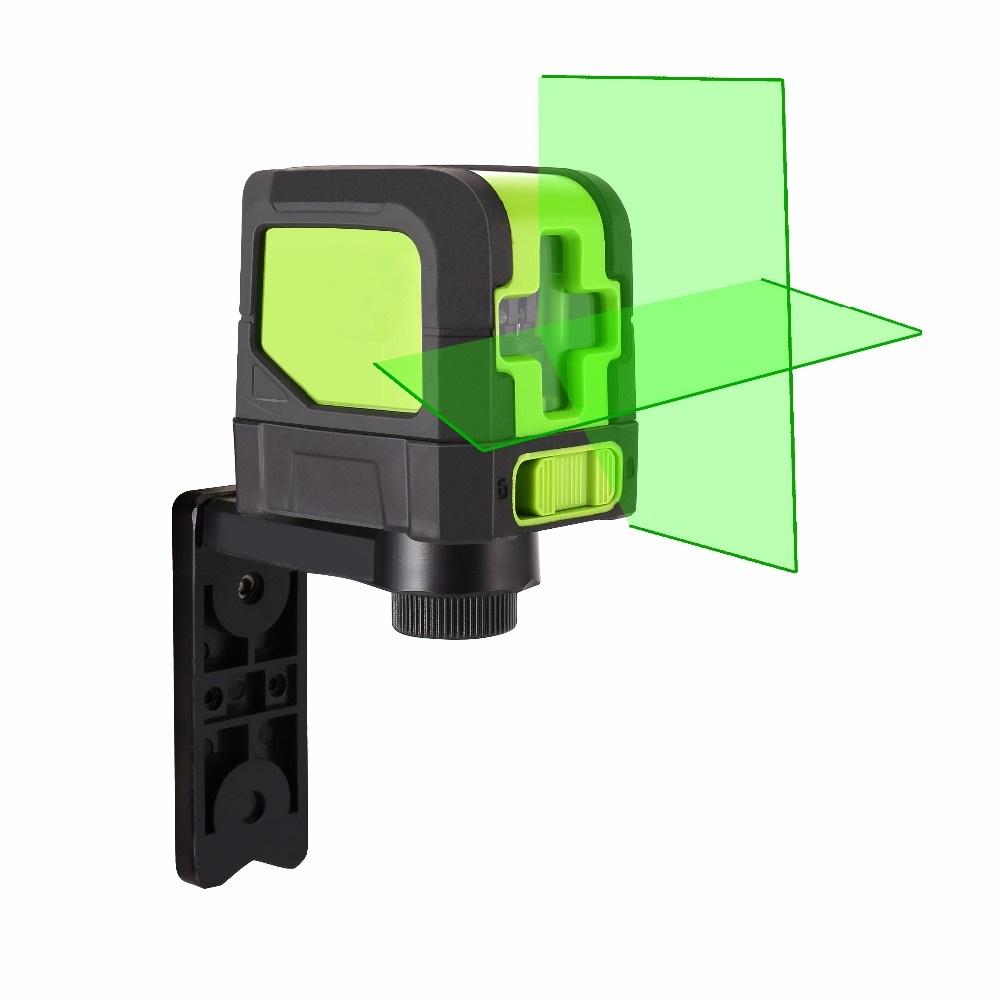 Automatická laserová vodováha / nivelák – výrazný zelený laser