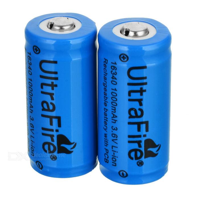 16340 / CRR123A nabíjateľné batérie