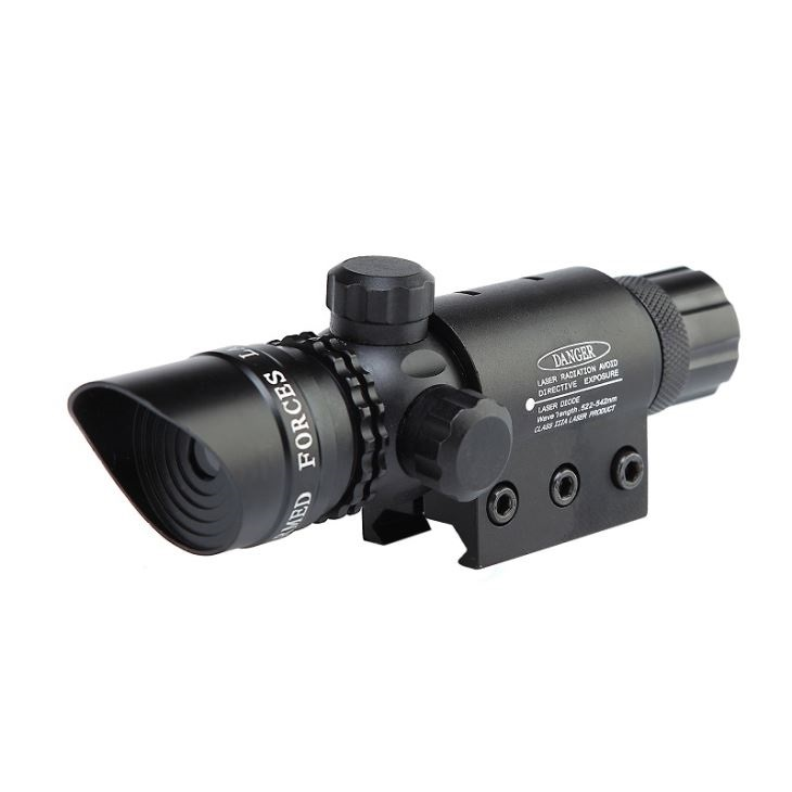 Výkonný zelený laserový zameriavač – 100mW