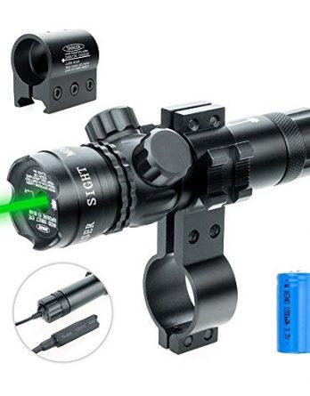 Zelený laserový zameriavač