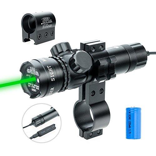 Laserový zameriavač – výrazný zelený 50mW/100mW