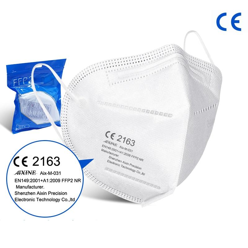 Certifikovaný FFP2 respirátor – CE,  FFP2 EN149 2001 – 10ks balenie